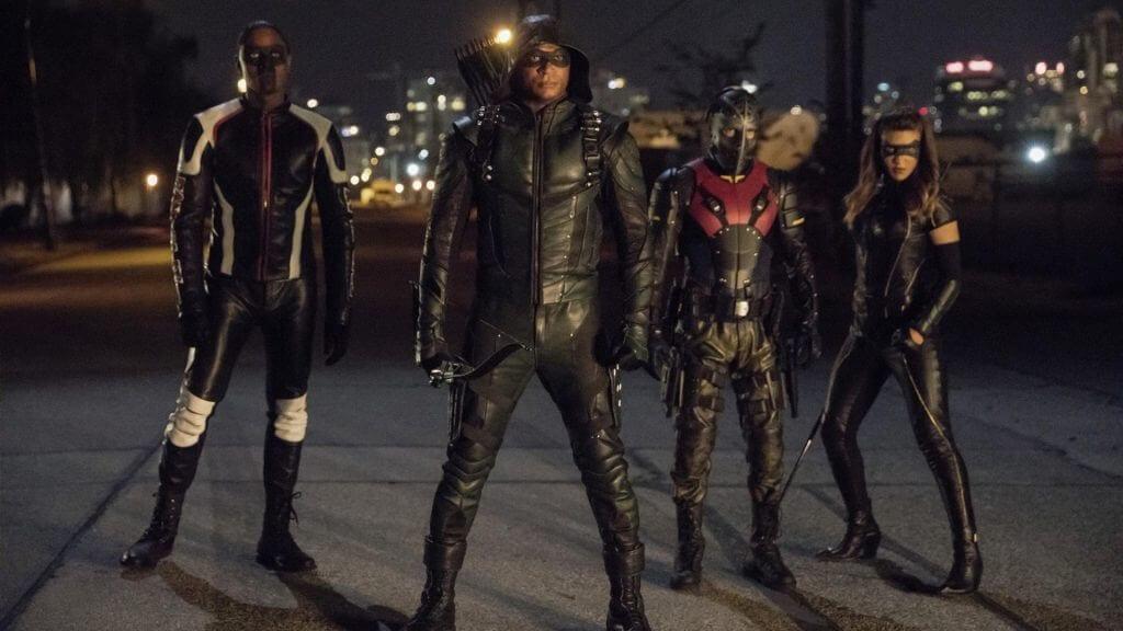 Diggle, Curtis, Dinah, Rene, Arrow season 6