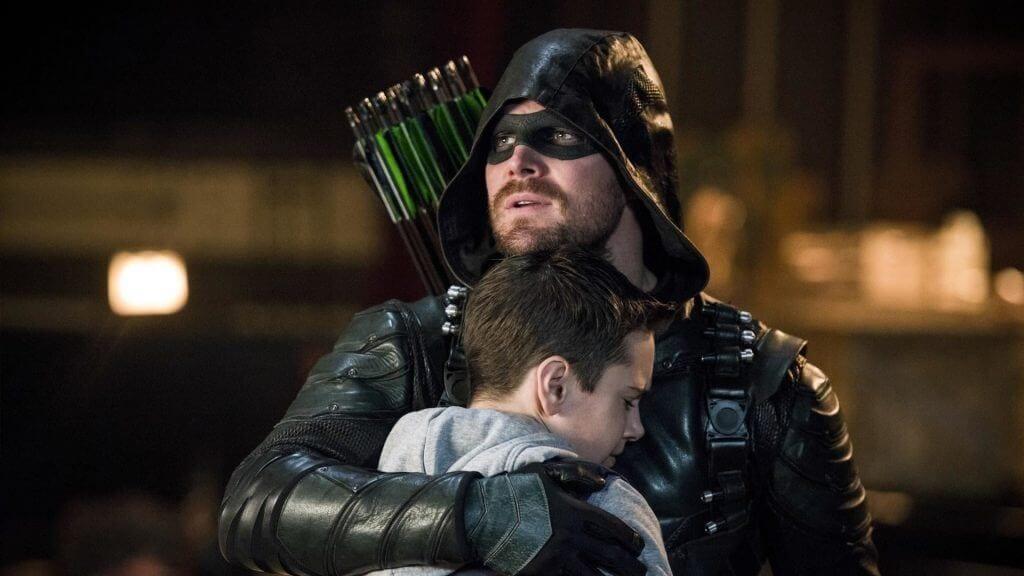 Oliver Queen, Green Arrow, William, Arrow season 6