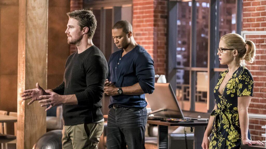 Oliver Queen, Diggle, Felicity, Arrow season 6