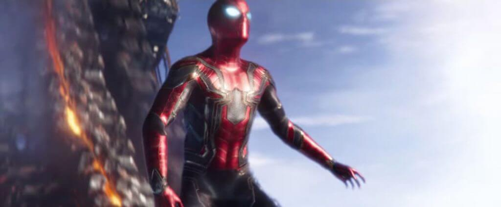 Iron Spider, Avengers: Infinity War, comic book callbacks