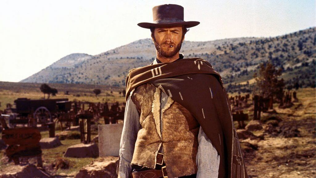Clint Eastwood, the Man With No Name, The Good The Bad and the Ugly