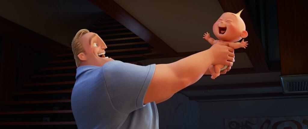 Bob, Jack-Jack, Incredibles 2, The Incredibles vs. Incredibles 2