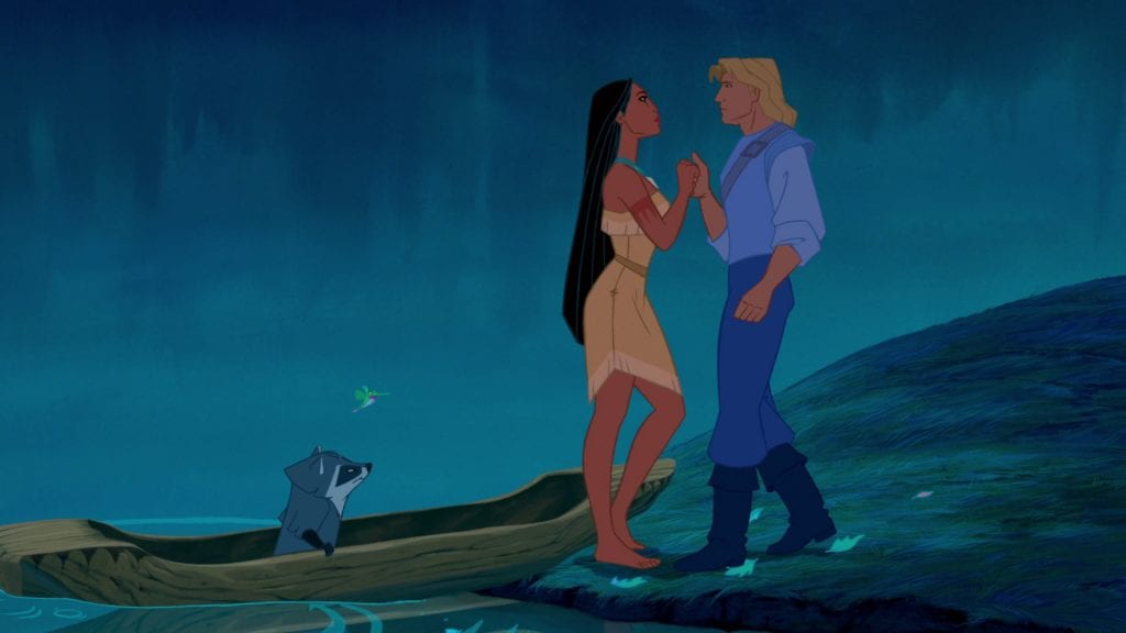 Pocahontas, John Smith, Mel Gibson