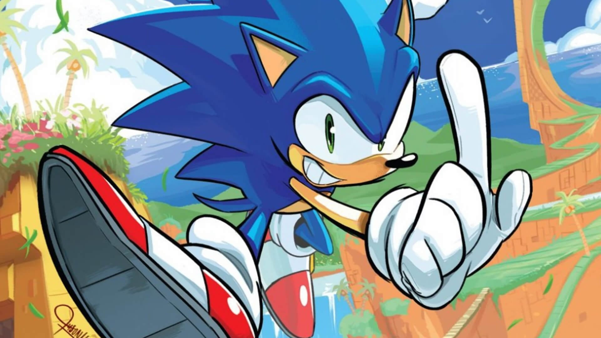 Review Sonic The Hedgehog 1 4 By Idw Geeks Gamers