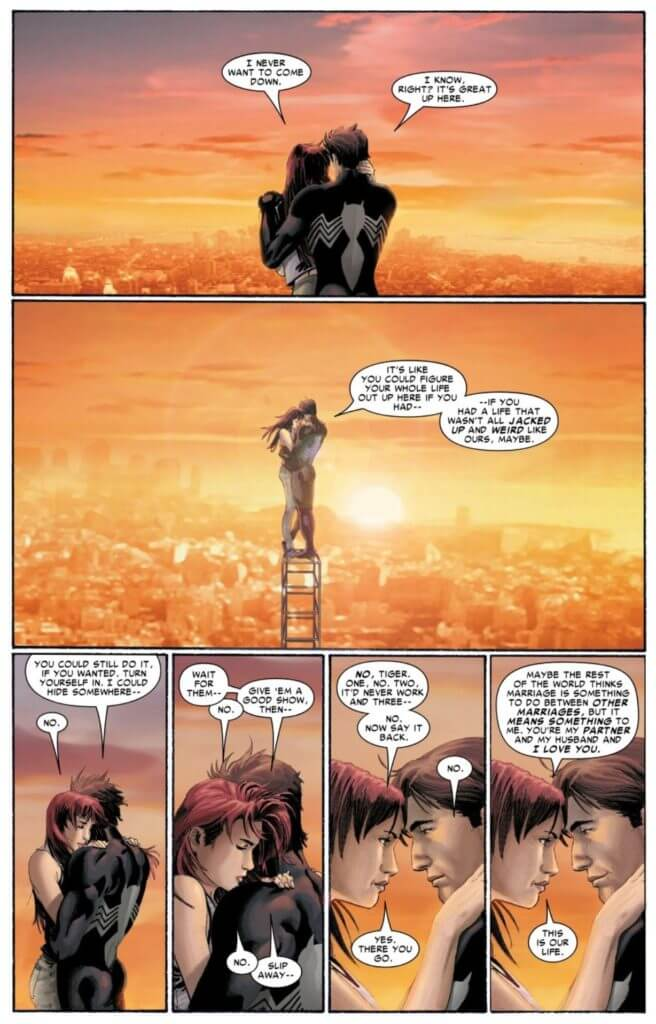 Amazing Sppider-Man #1, Peter Parker, Mary Jane