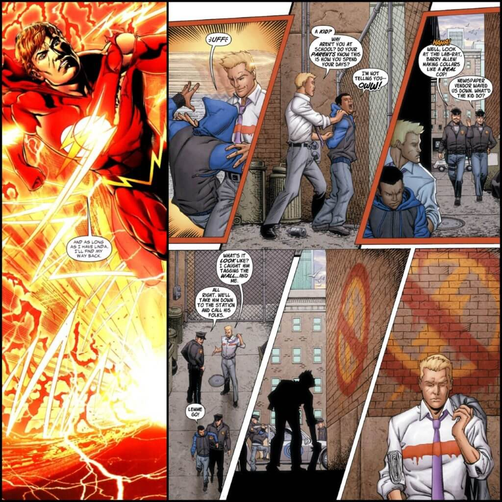 Wally West, the Flash, diversity