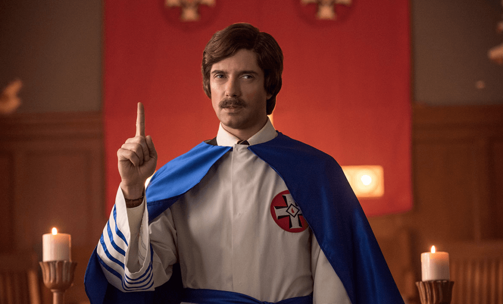 BlacKkKlansman, Spike Lee, Topher Grace