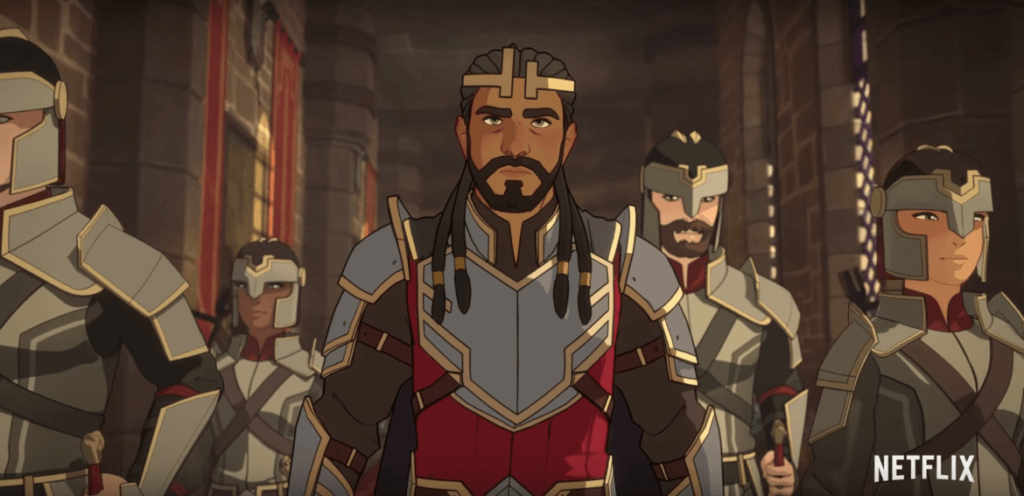 The Dragon Prince, King Harrow