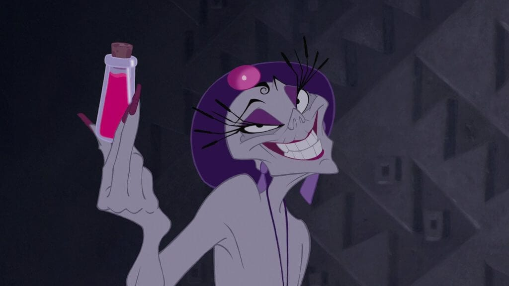 Yzma, Disney villains