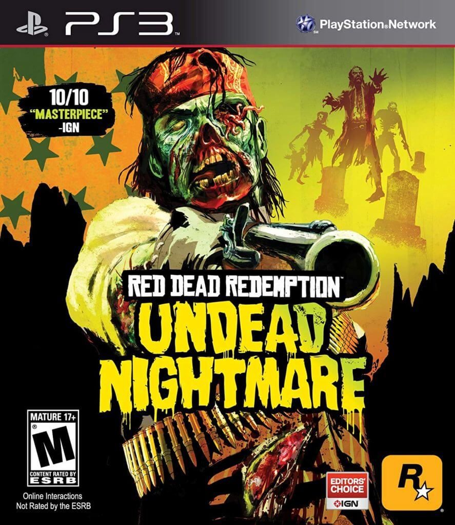 Red Dead Redemption: Undead Nightmare, horror video games