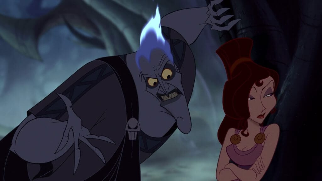Hades, Disney villains