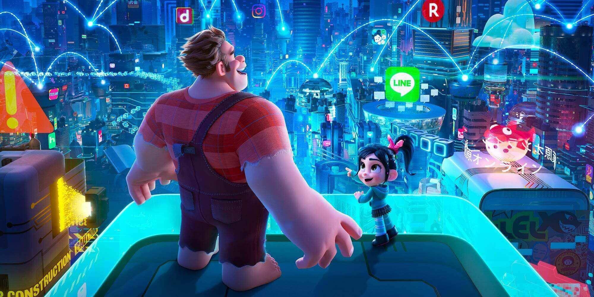 Review Ralph Breaks The Internet 2018 Geeks Gamers