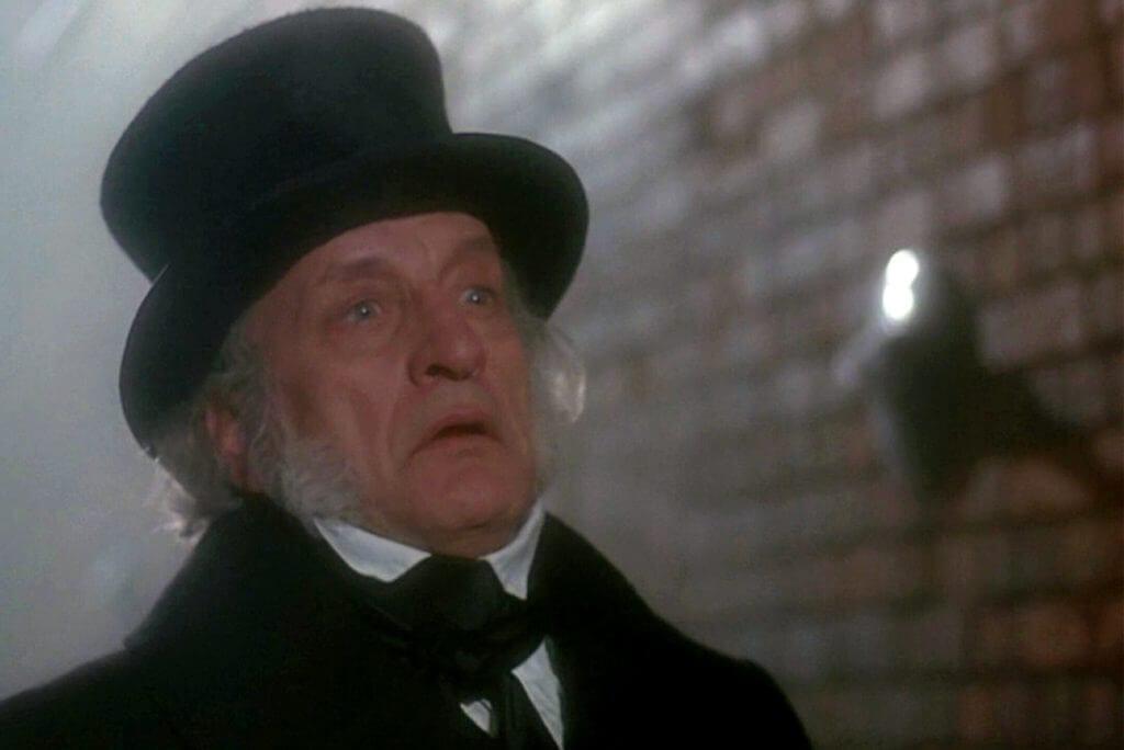 A Christmas Carol, Ebenezer Scrooge, George C. Scott