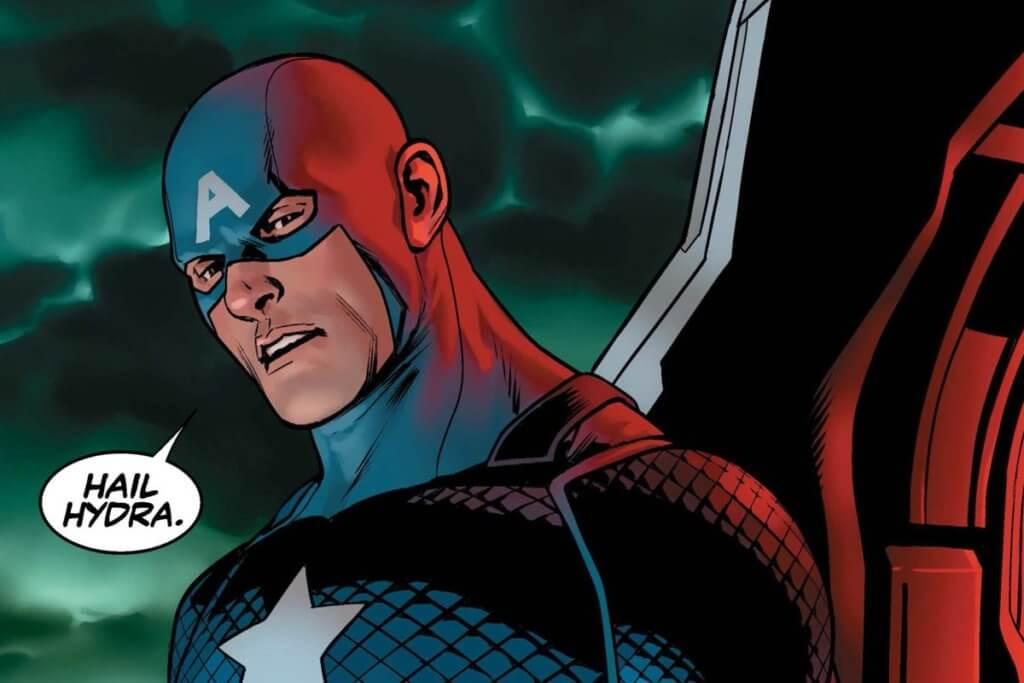 comic books, Captain America, Hydra