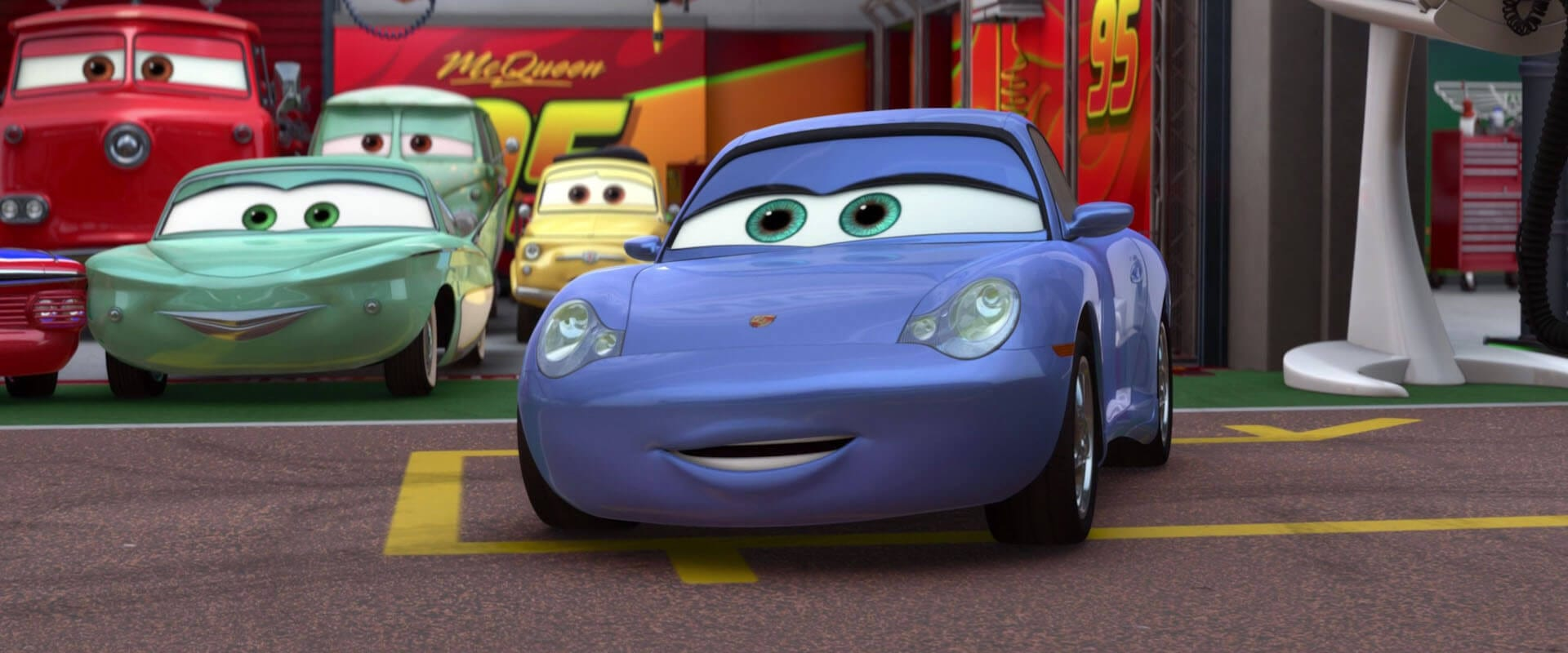 Sally Carrera Personnage Cars 2 01 Geeks Gamers