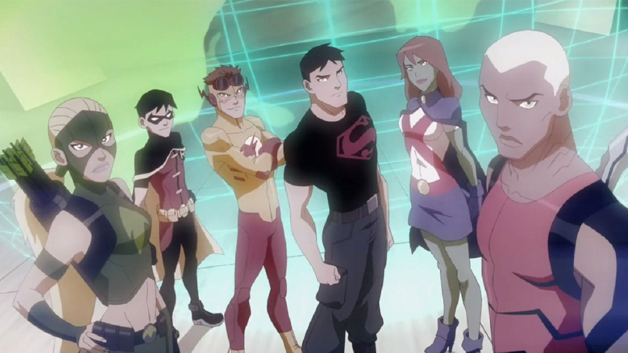 Young Justice and Titans, Young Justice, Titans