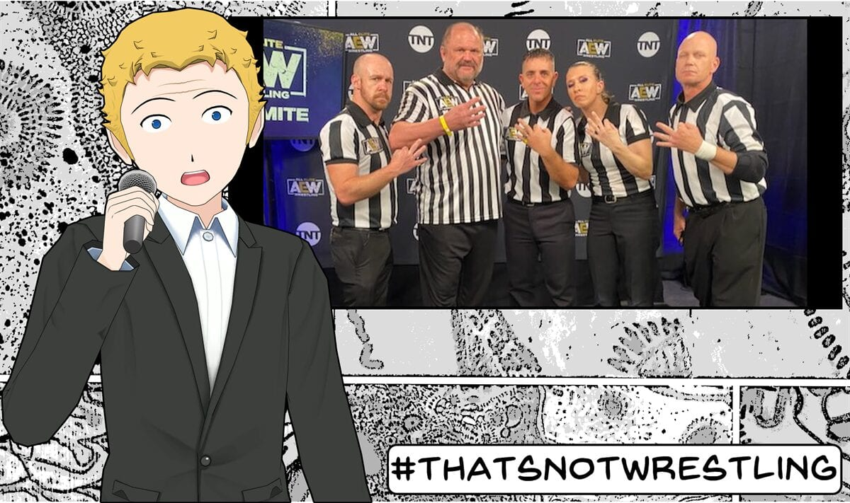 Referees, Wrestling, AEW, Double or Nothing