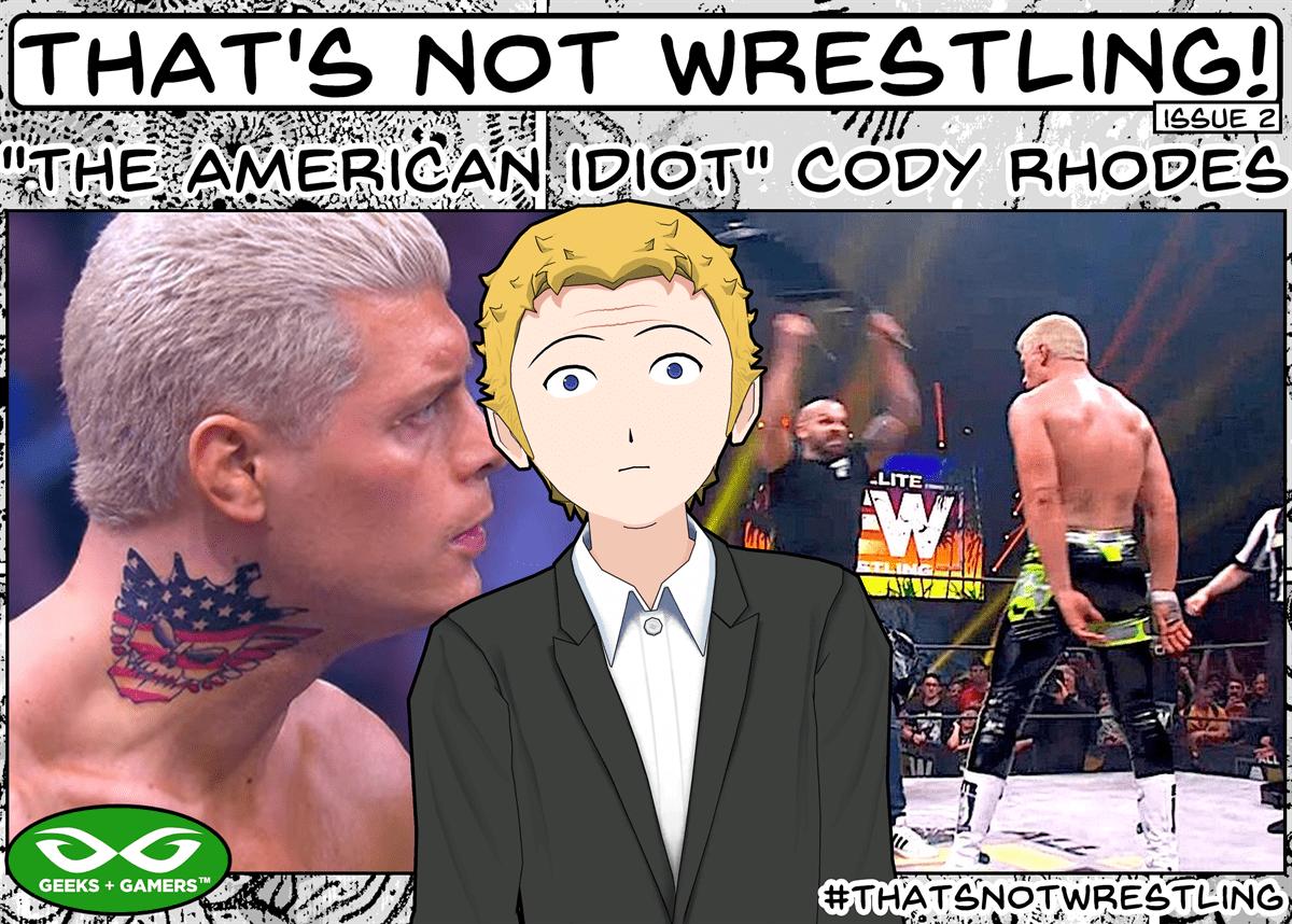 Cody Rhodes, Wrestling, AEW