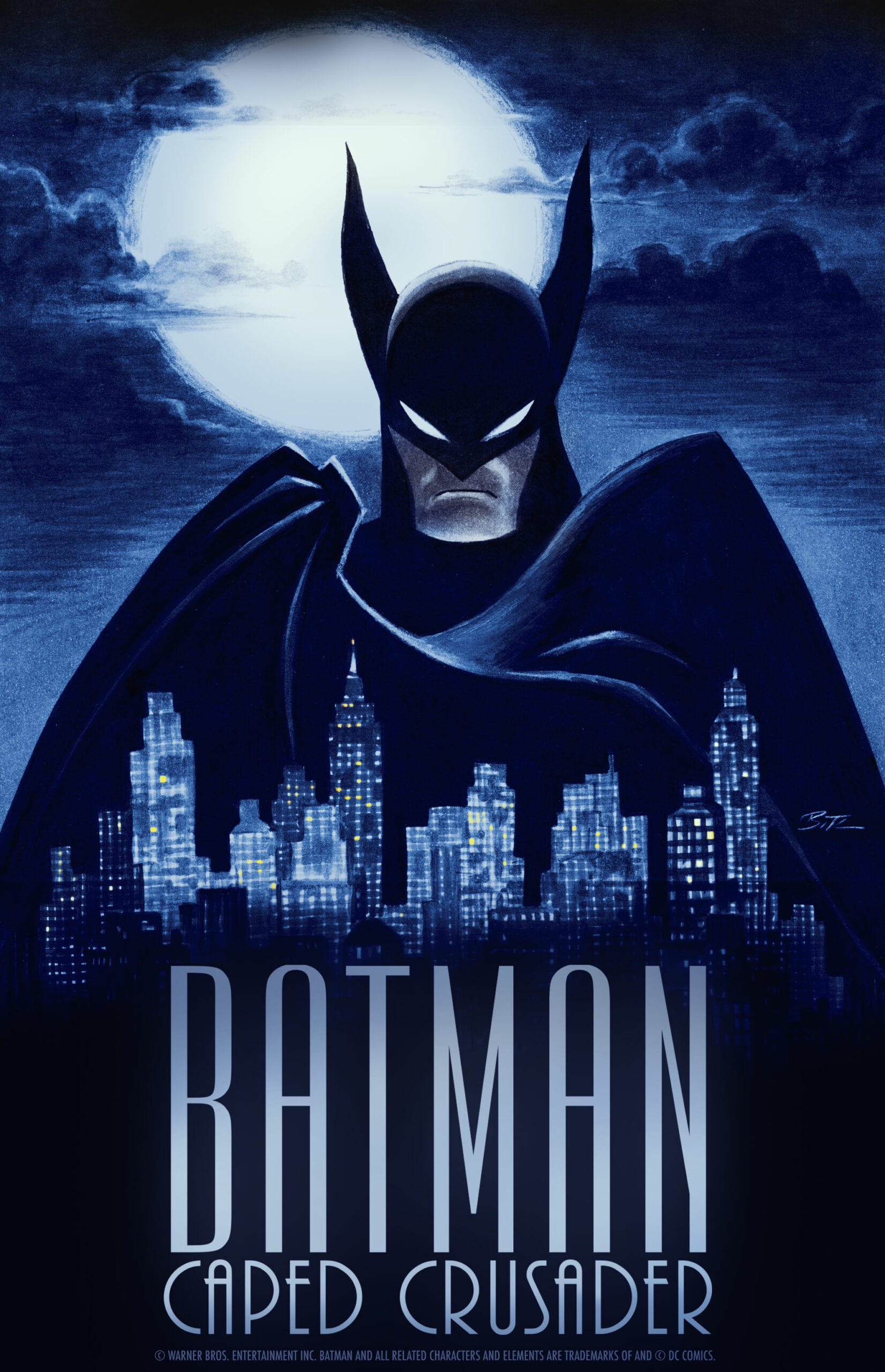 Batman: Caped Crusader, My Adventures With Superman