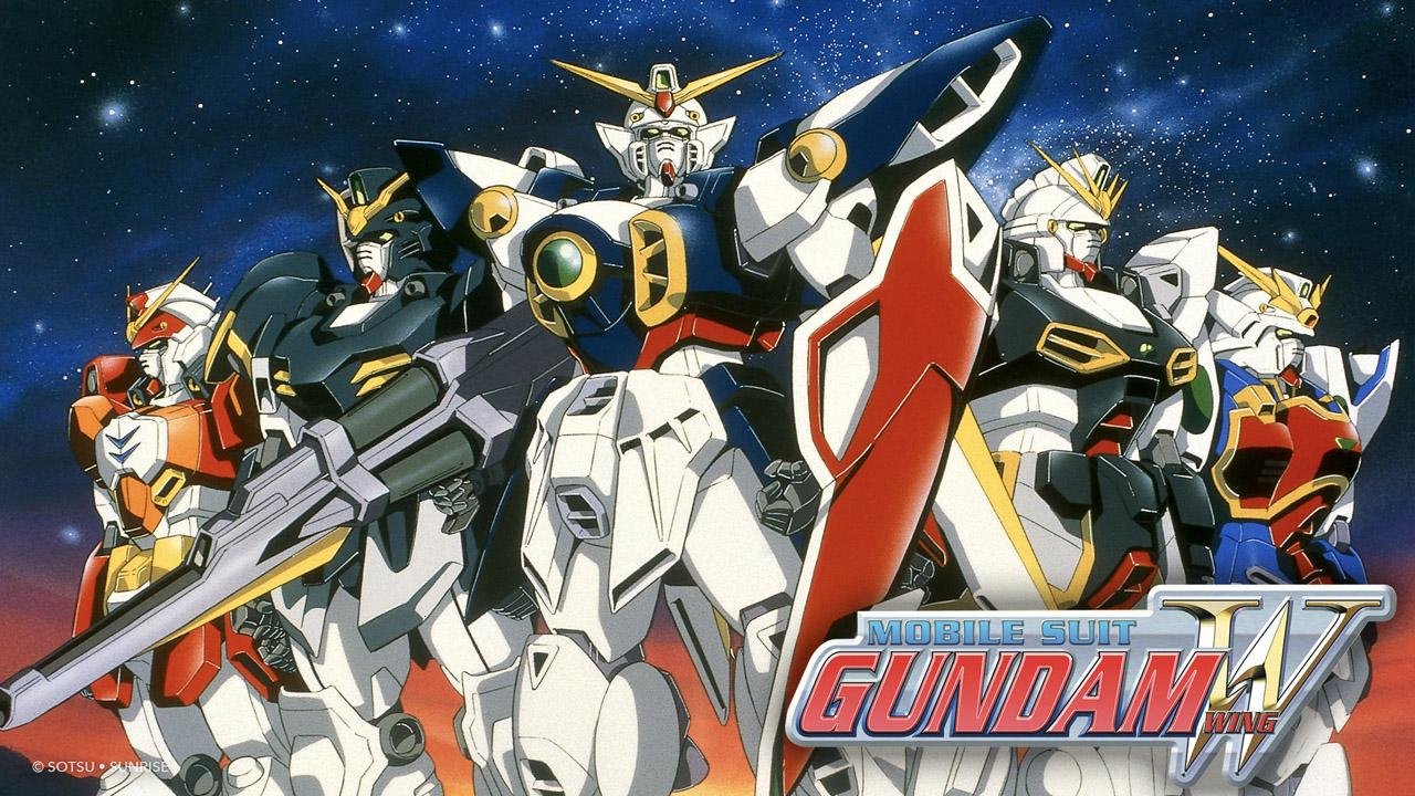 90s anime, Mobile Gundam Suit Wing