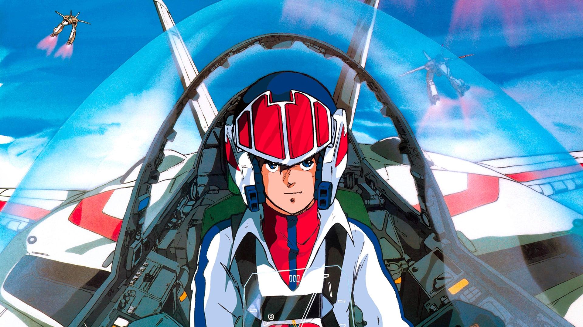 80s anime, Super Dimension Fortress Macross