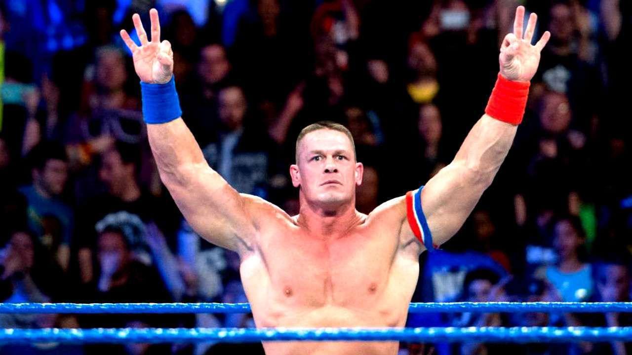 John Cena, Roman Reigns, WWE