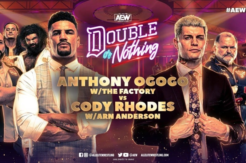AEW, wrestling, referees, Double or Nothing