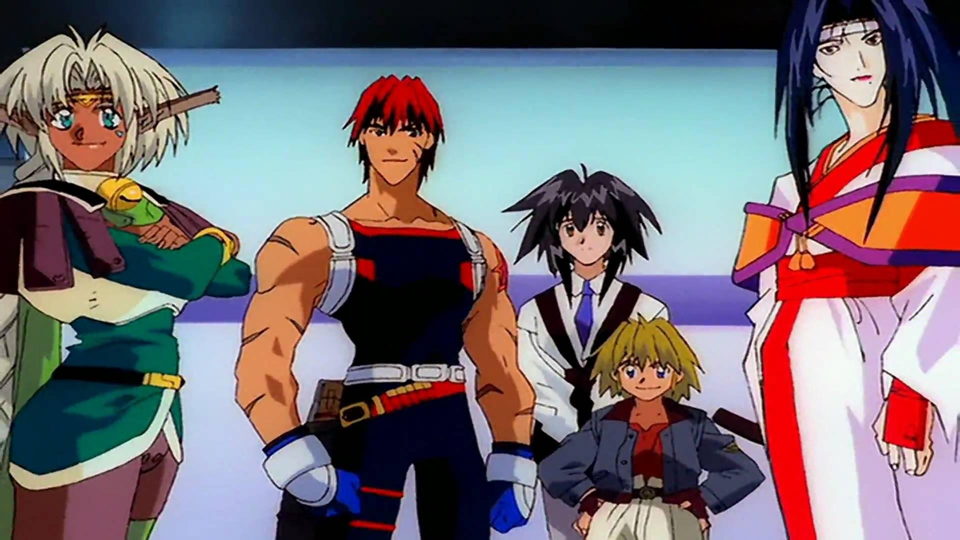 90s anime, Outlaw Star