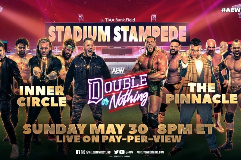 AEW, wrestling, Double or Nothing, referees