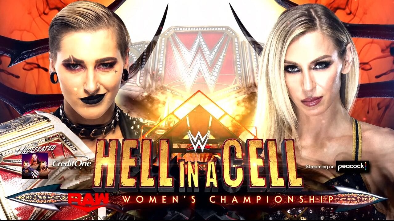 Hell in a Cell, WWE, Wrestling, Rhea Ripley, Charolotte Flair