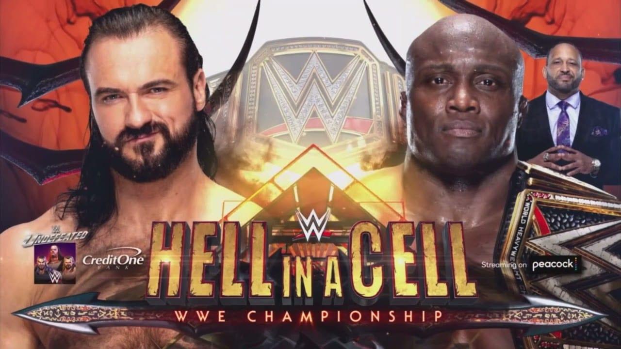 Hell in a Cell, WWE, Wrestling, Bobby Lashley, Drew McIntyre