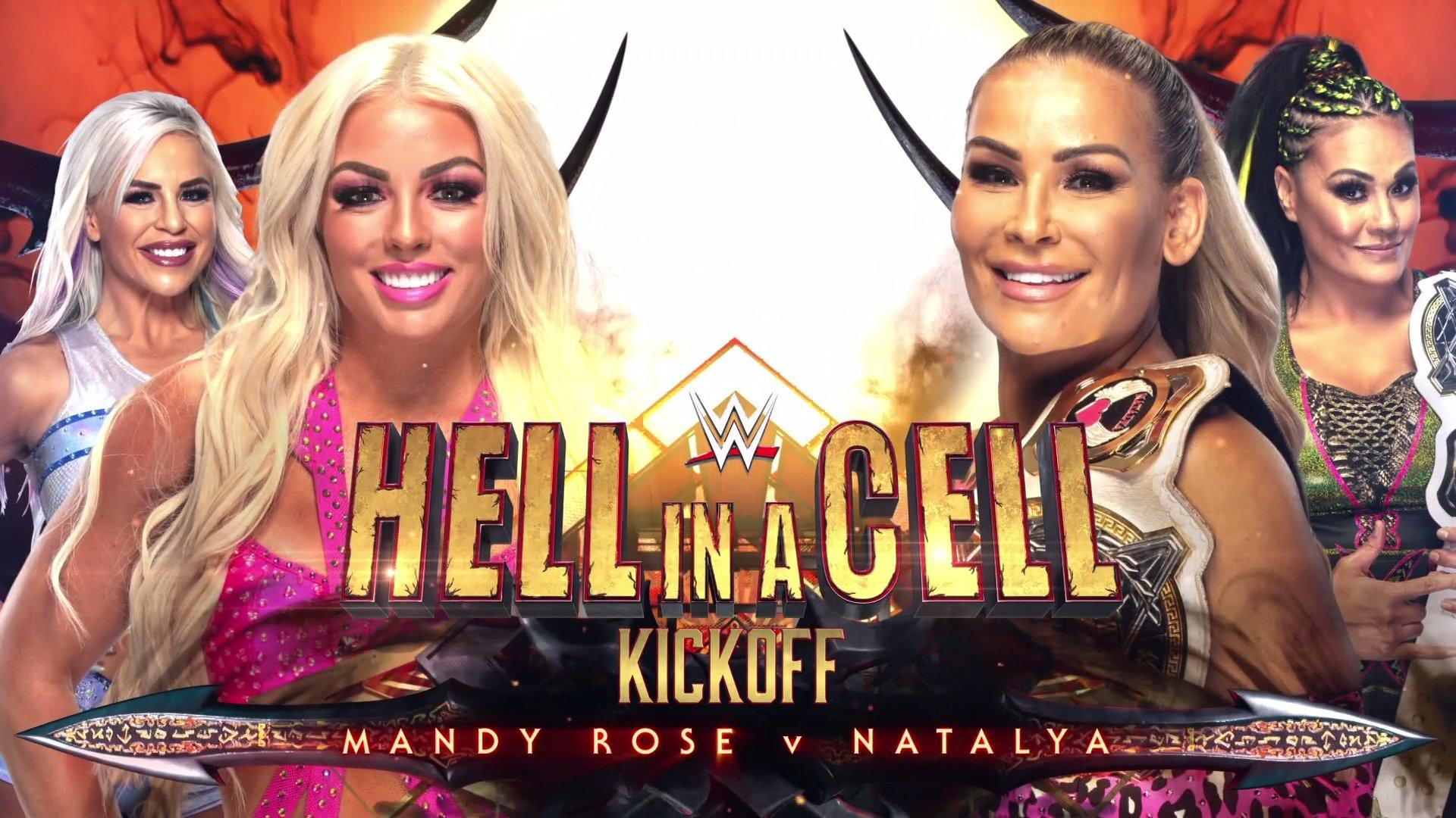 Hell in a Cell, WWE, Wrestling, Natalya, Mandy Rose