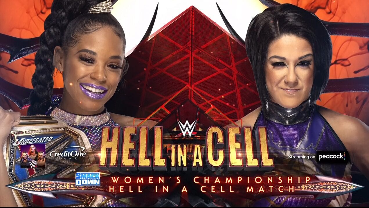 Hell in a Cell, WWE, Wrestling, Bianca Belair, Bayley