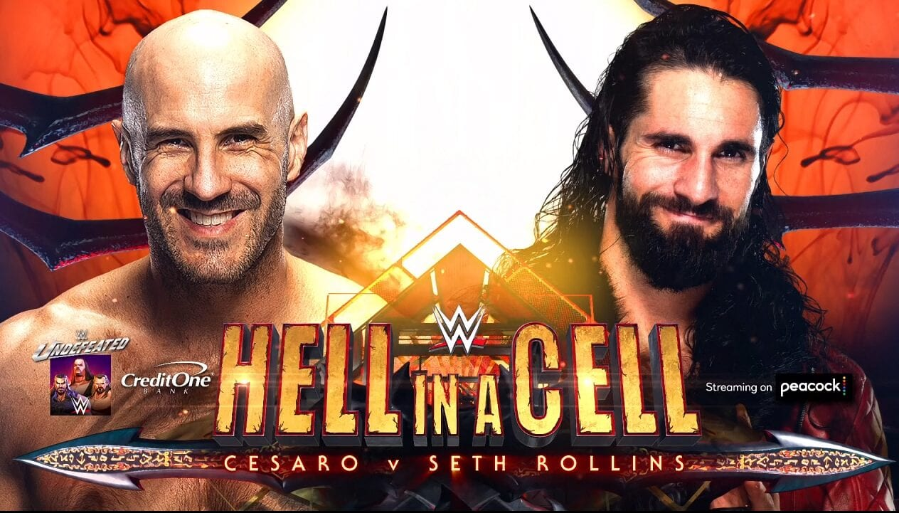 Hell in a Cell, WWE, Wrestling, Seth Rollins, Cesaro