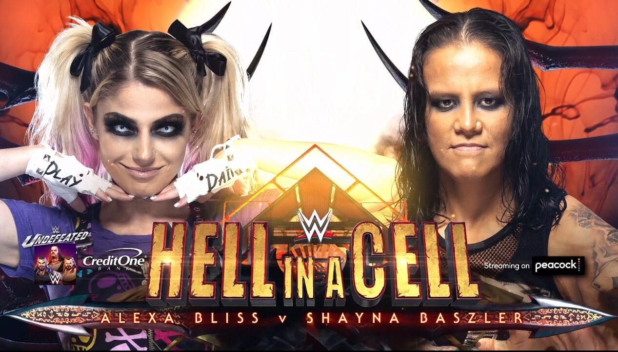 Hell in a Cell, WWE, Wrestling, Alexa Bliss, Shayna Baszler