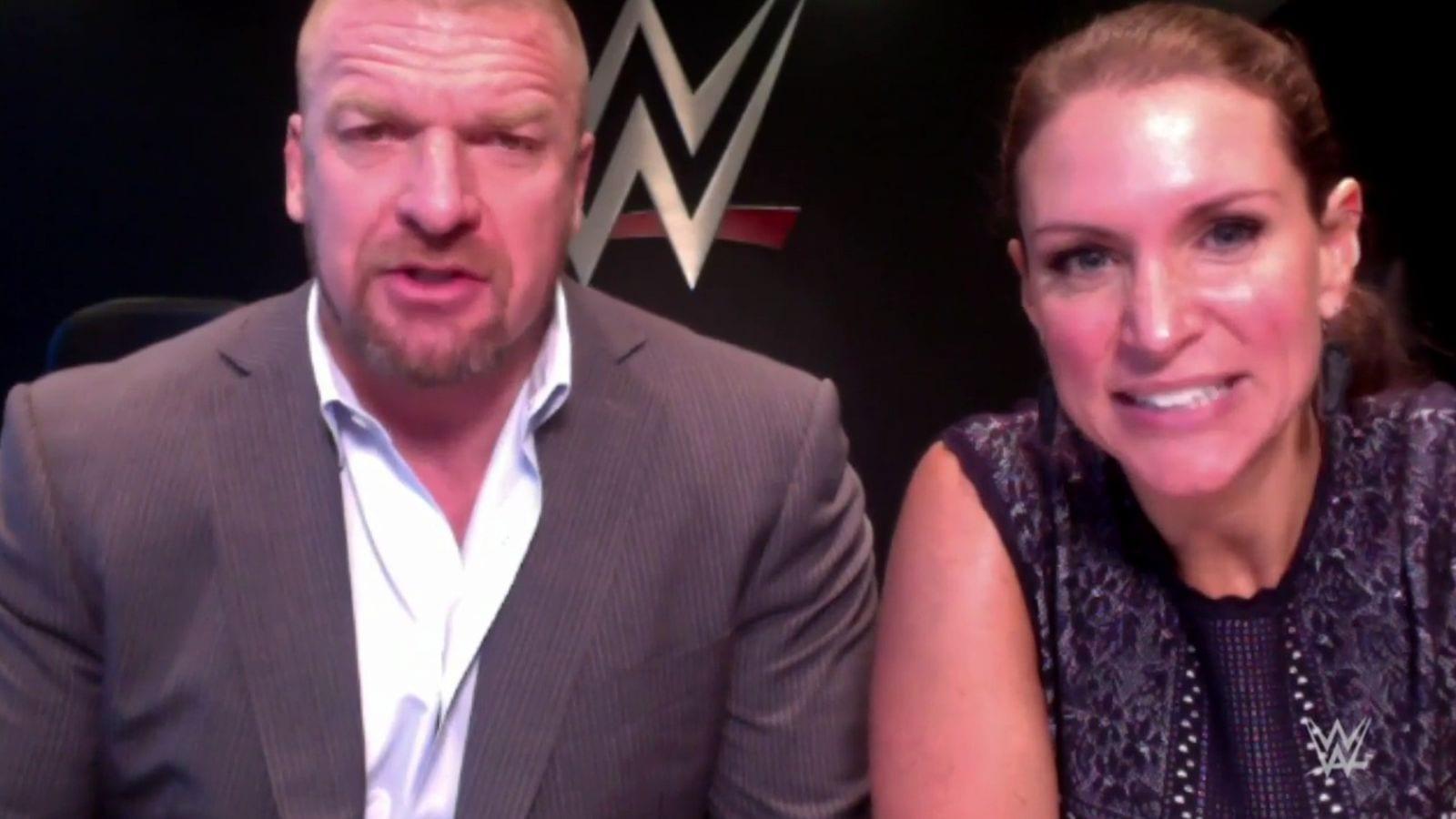 Vince McMahon, WWE, Triple H, Stephanie McMahon