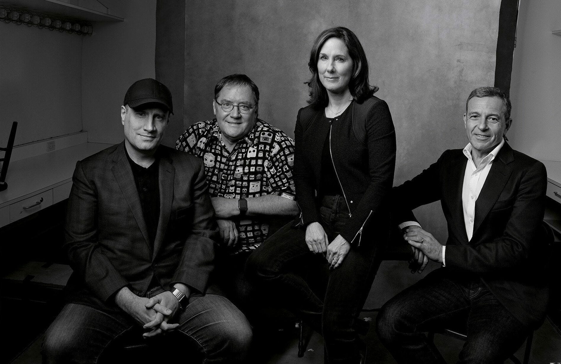 Kevin Feige, Kathleen Kennedy, Bob Iger