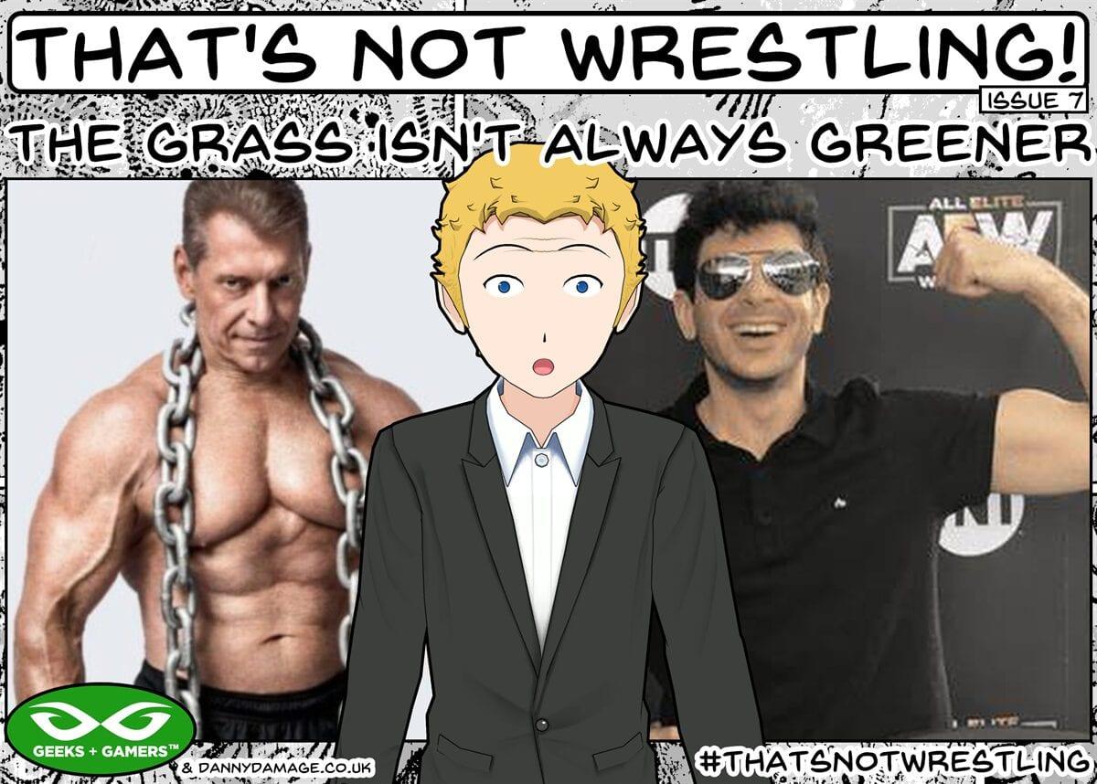 AEW, WWE, Vince McMahon