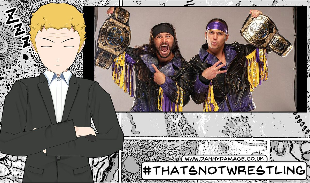Wrestling, WWE, AEW, The Young Bucks, No