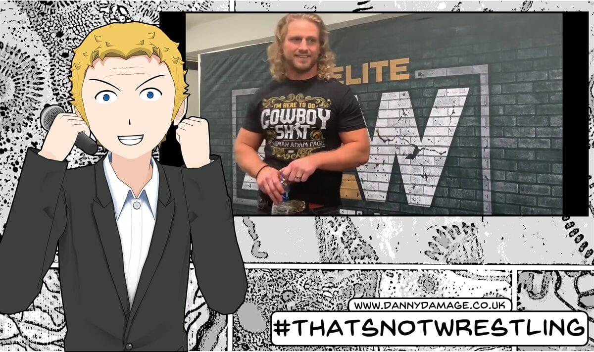 wrestling, WWE, AEW, Hangman, Adam Page
