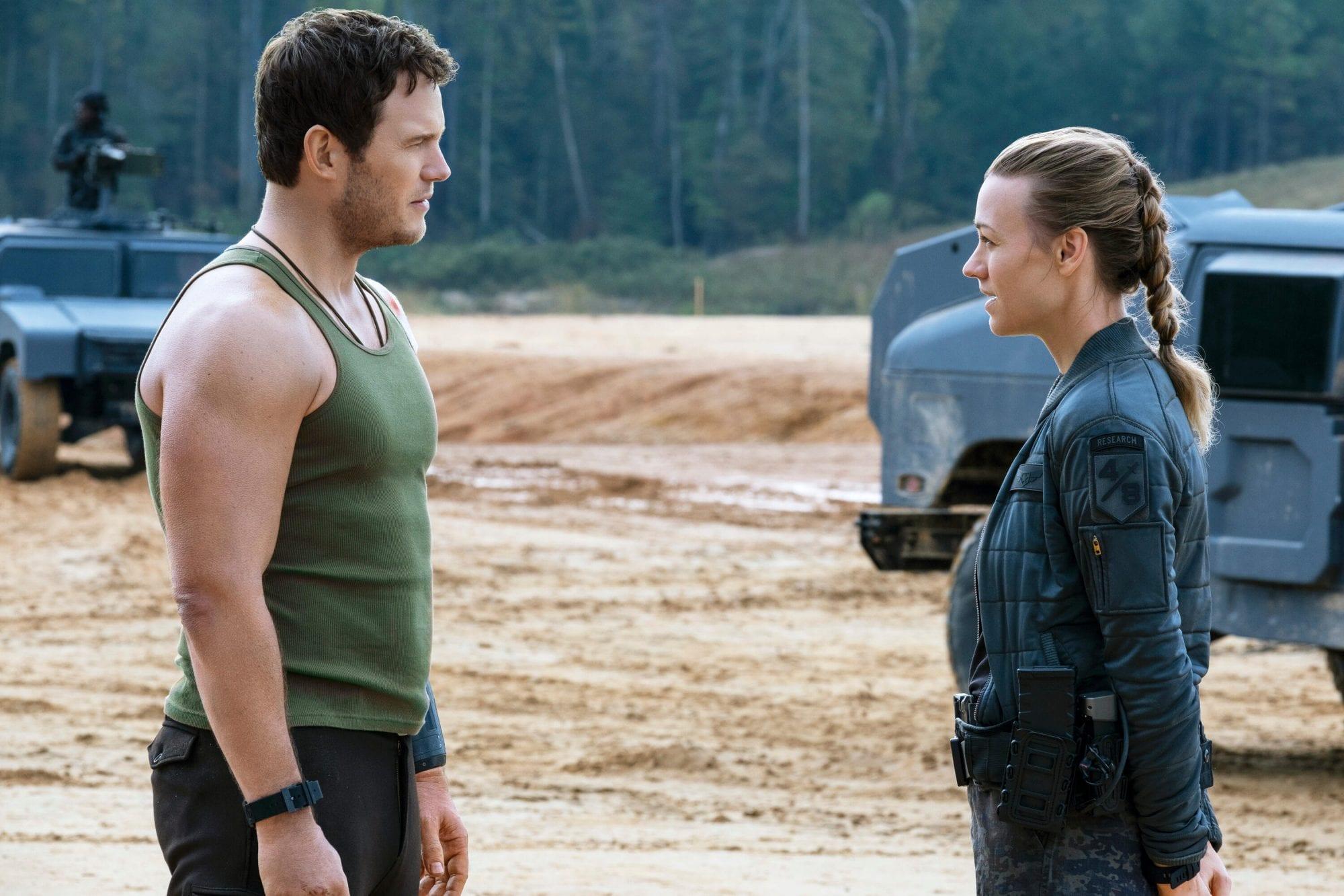 The Tomorrow War, Chris Pratt, Yvonne Strahovski