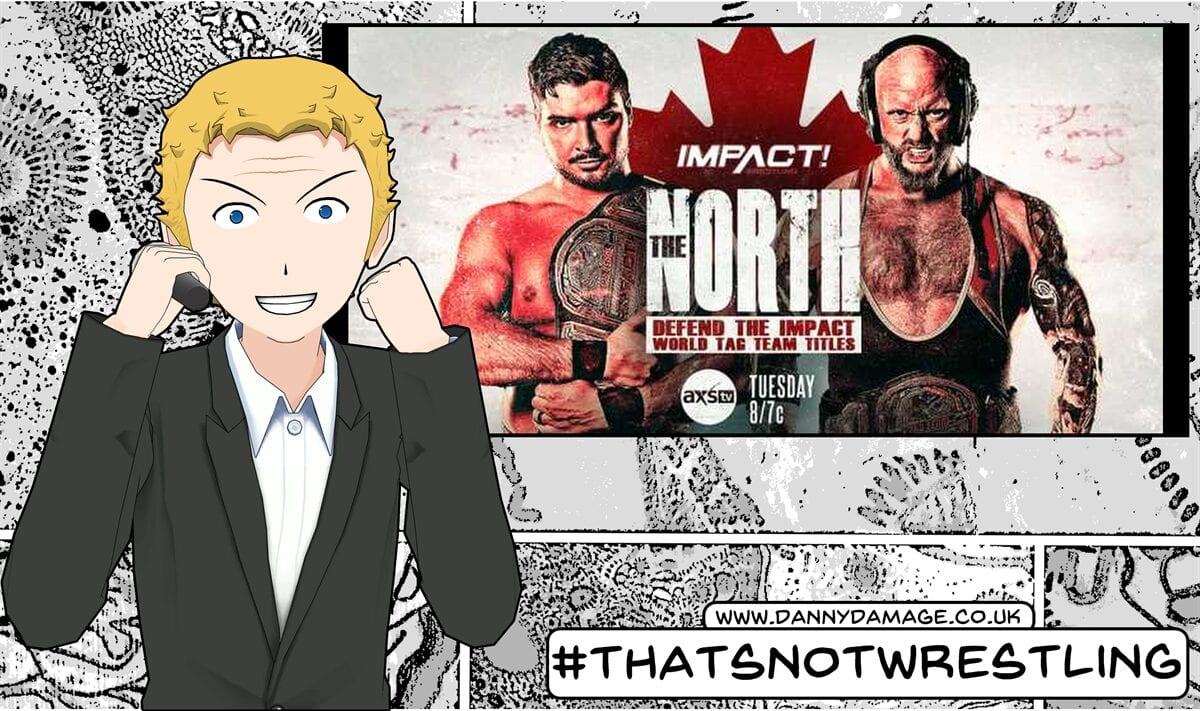 Wrestling, WWE, AEW, Ethan Page, Impact Wrestling, The North