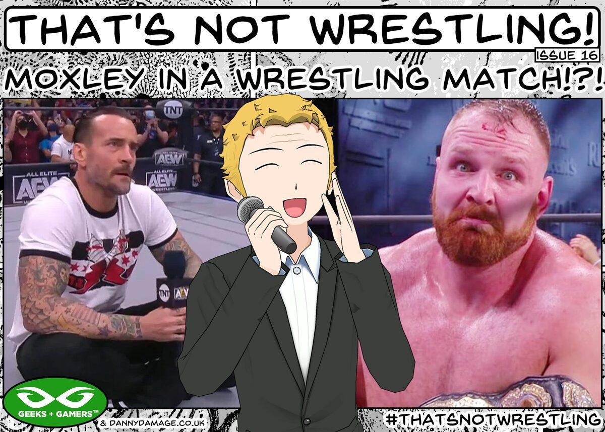 wrestling, WWE, AEW, Jon Moxley