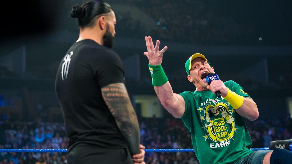 wrestling, WWE, AEW, Roman Reigns, John Cena