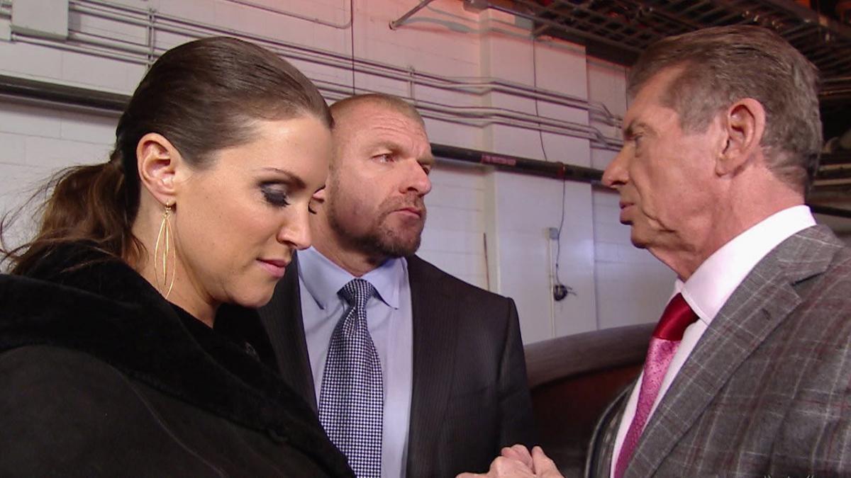 wrestling, WWE, AEW, Vince McMahon, Triple H