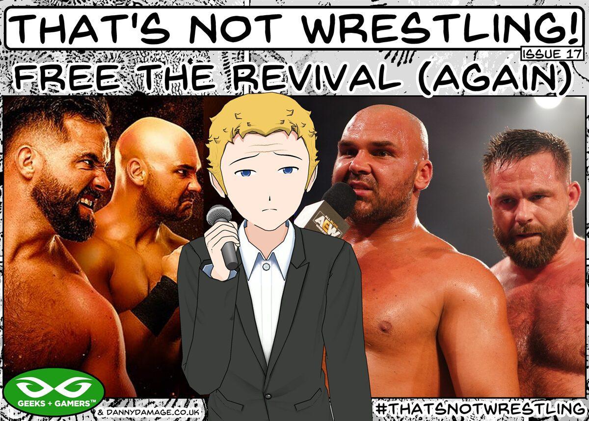 wrestling, WWE, AEW, FTR