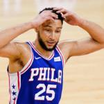 Ben Simmons Turns Away His Teammates, Signalling His End in Philadelphia