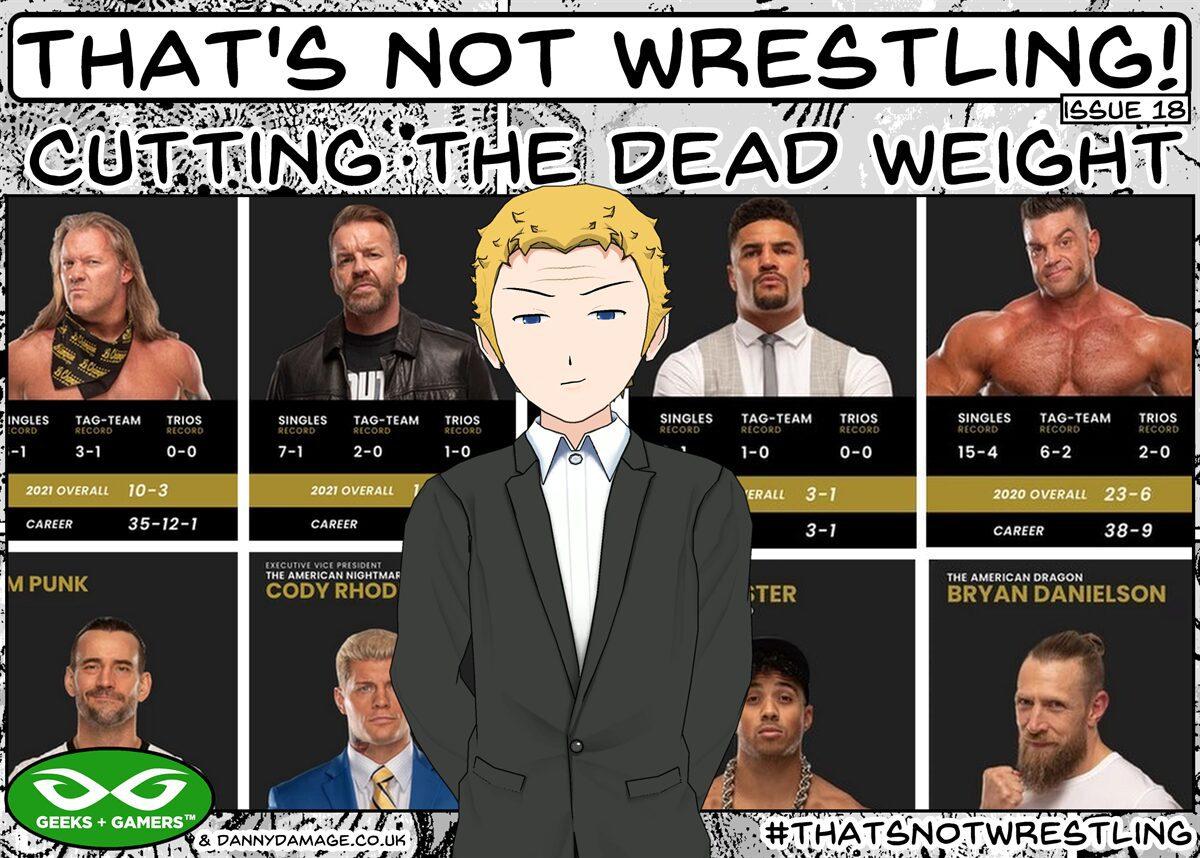 wrestling, WWE, AEW, AEW roster