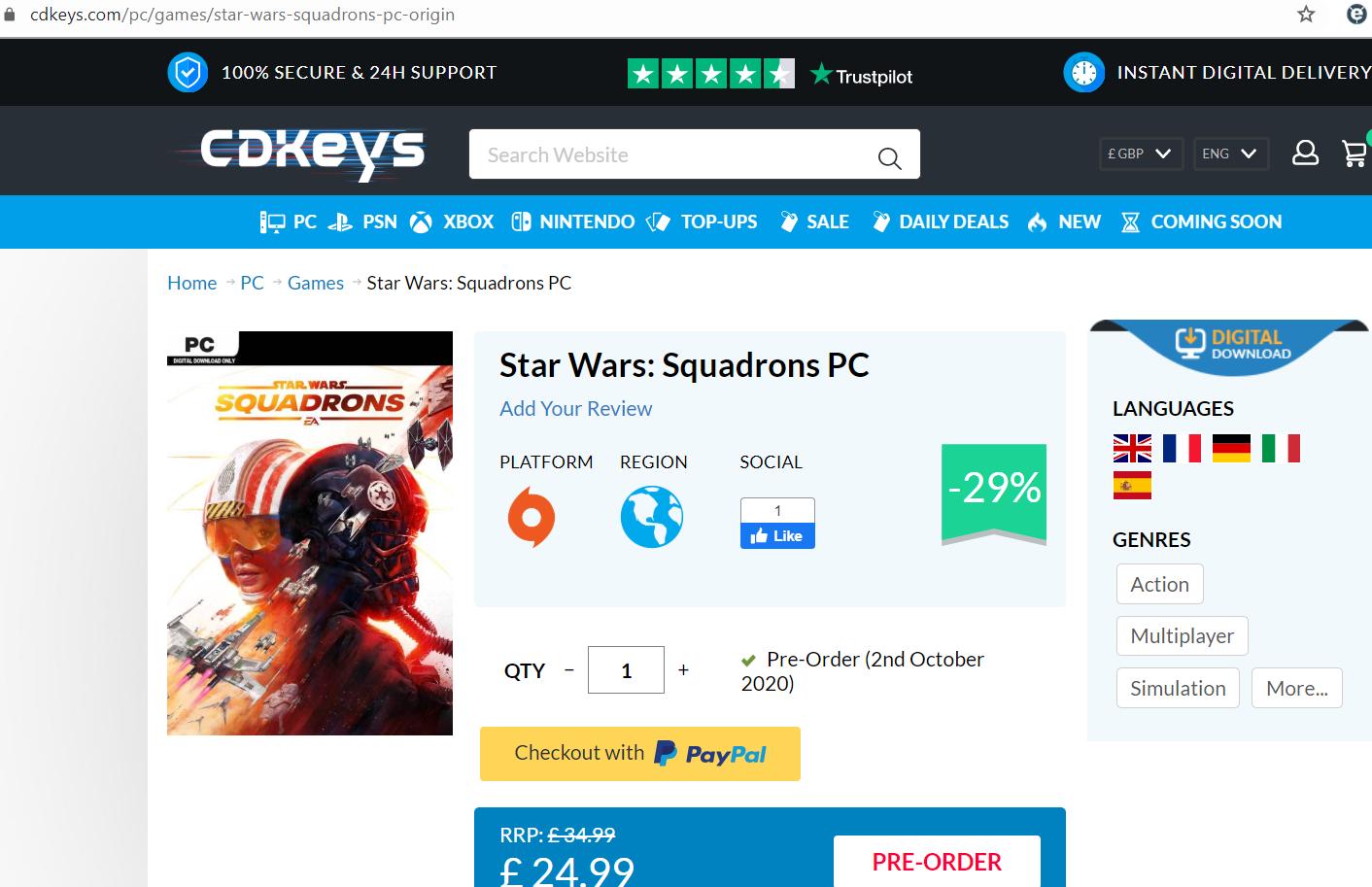2020-06-16 07_51_39-Star Wars_ Squadrons PC CD Key, Key - cdkeys.com