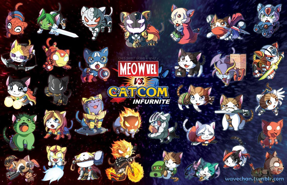 meowvel avengers